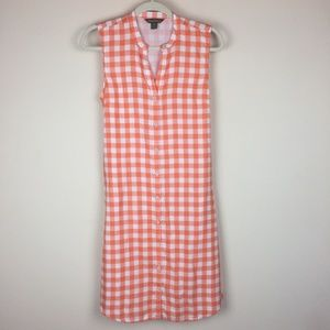Tommy Bahama Plaid Sun Dress S